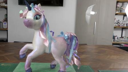 """这就是传说中彩虹小马蛋糕?栩栩如生的像""""活""""了一样,你见过吗"""