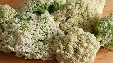 川菜师傅教你花菜秘制做法,一次做10斤吃半年不会坏,又好吃又香