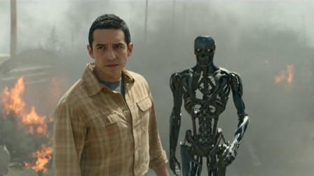 机器人拥有不死超能力,炸成碎片依然可以重生,一部科幻动作电影