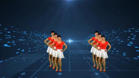 最新广场舞《再唱等你那么久》2020广场舞简单易学