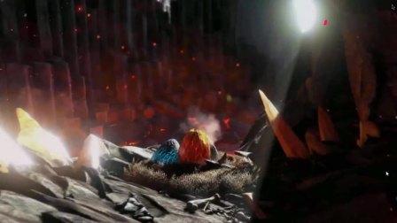 烈焰三角龙驯服!采集神器战斗力不俗、方舟