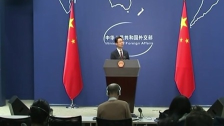 外交部 外交部发言人 耿爽 中美达成第一阶段经贸协议有利于全世界 新闻早报 20200117 高清