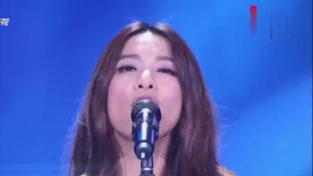田馥甄演唱《凡人歌》,嗨爆全场,四位导师全体起立,惊呼:哇!