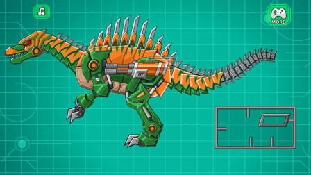 机械恐龙拼装翼龙怪兽