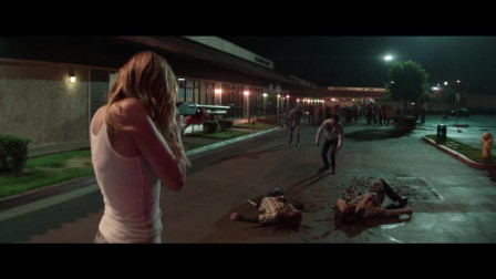 二男一女被丧尸追赶,关键时刻才逃跑,真是太惊险了
