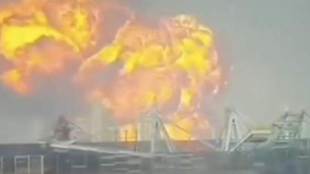 广东珠海高栏港一石化厂发生爆炸,明火已被扑灭,暂无人员伤亡