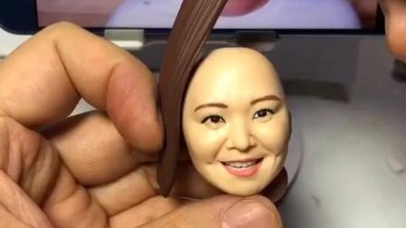 贾玲的头是面团捏的?脸都比原来更大了