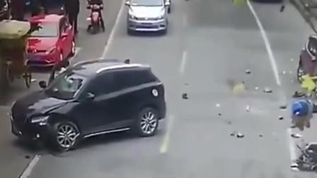 这种事故也是少见,责任在谁?要不是视频谁信!