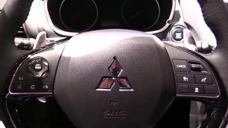 19款三菱EclipseCross,越野性能车转型,改做SUV了