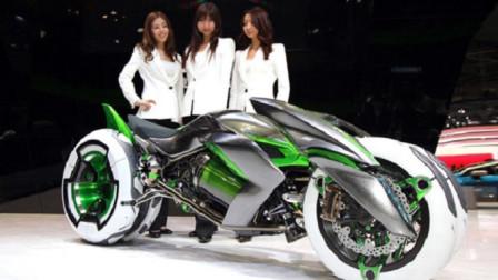 """日本机械制造到底多先进?看完这款""""未来摩托车"""",真难以置信"""