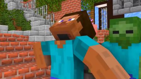 我的世界动画短片:英雄 vs 巴迪 到底是好还是坏?