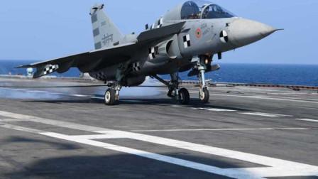"LCA战斗机上舰捞了个""全球第一""?印度海军:我们太难了!"