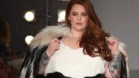 她是世界上最胖的女模特,可脱下外套瞬间,在场男士直言:心动了