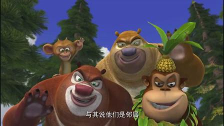 熊出没:光头强和动物们的感情真好,恐怕再过二十年也不会忘的吧
