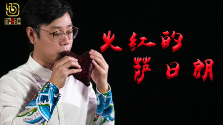 「陶笛」精彩演绎网络热歌《火红的萨日朗》糖糖音乐家解亚飞