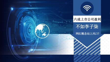 财经观察家|秦亮:六成上市公司盈利不如李子柒 网红概念站上风口?