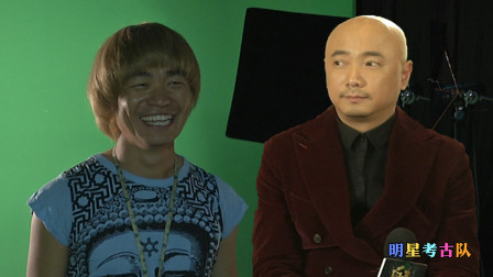 《泰囧》花絮,戴上这顶黄金蘑菇头假发,王宝强:我感觉我越来越时尚了!徐峥:我的发型不太有变化了