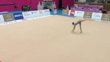 艺术体操队张豆豆,完全就是运动员中女神级别的人物!