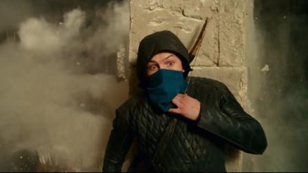侠盗罗宾汉偷宝藏,这弓箭用的也是没谁了
