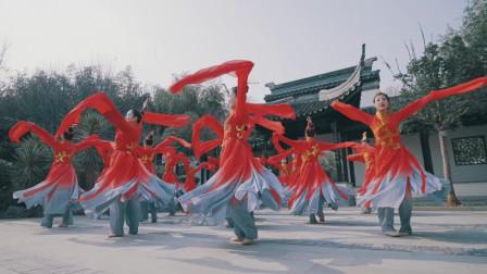 中国舞《婲容耀蕊》, 舞者像盛开在春日里的繁花,真喜庆