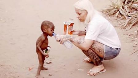 """当年非洲那个""""讨水男孩"""",如今过得怎么样了?看完都心疼"""