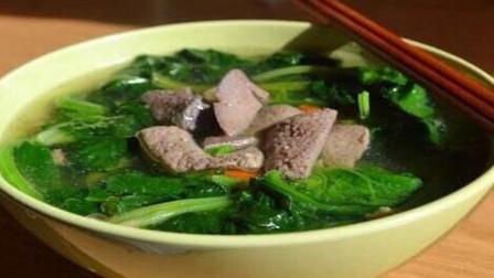 """用这个方法做的""""青菜猪肝汤""""味道特别鲜美,一点不输饭店"""