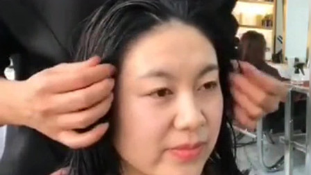 大姐因为带孩子两年没做头发,烫完这款短发烫,瞬间年轻十岁