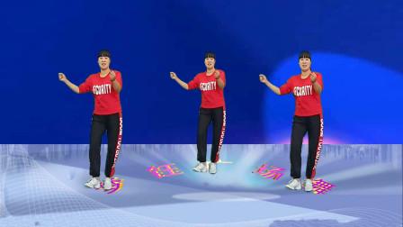 广场舞《都是兄弟》动感时尚现代舞,活力健身操,好听易学附教学