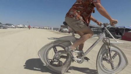 三角形轮胎的自行车,为何转起来不会颠簸?将颠覆我们的认知