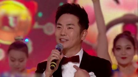 张晓龙《一起笑出来》,热情台风带动全场 吉林卫视春晚 20200117