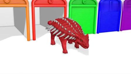 恐龙时代 恐龙总动员 恐龙动画片01