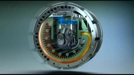 这才叫真正的涡轮发动机简直就是科幻大片