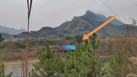 广西农村发现一户人家,离河边只有几米距离,给你10万你敢住吗?