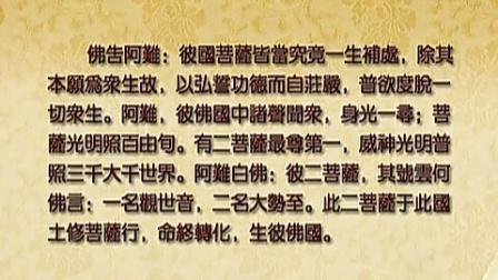 大安法师:《无量寿经》 卷下 第三讲 全19讲(卷上+卷下)