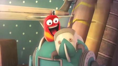 爆笑虫子,小红好倒霉,遇到小黄这个猪队友,心疼小红一秒钟吧