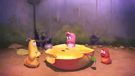 爆笑虫子,小红只能看着小黄和小粉撒狗粮,自己却是单相思