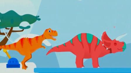 侏罗纪救援 恐龙世界大冒险 恐龙宝贝大营救 大探险 霸王龙历险记 陌上千雨解说