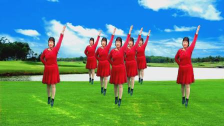 梦中的流星广场舞《草原的味道》  舞蹈:凤梅