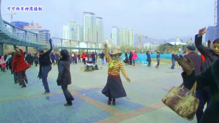 西宁市中心广场锅庄舞祝酒歌86
