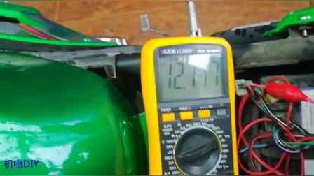 摩托车很久没骑!竟然发动不了了!估计是电瓶没电了