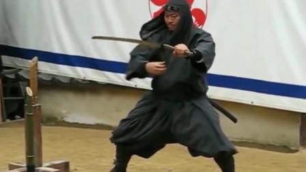 """现代日本伊贺流忍者忍术展示,并没有想象中的那么""""神通广大"""""""