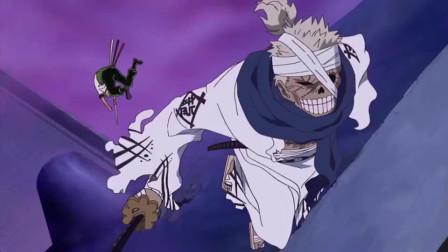 海贼王:和光月御田的战斗,索隆获得了最终的胜利,名刀到手