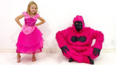 好搞笑!萌宝小萝莉跟爸爸为了参加聚会做了哪些准备?趣味玩具故事