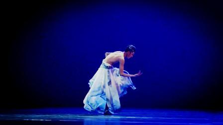 中国歌舞剧院演员,董家铭演绎古典舞水墨孤鹤,不愧是国家队成员