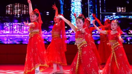 """2020""""点亮中国""""全国青少年儿童专题春晚江苏选区—《热力天竺》洪韵舞蹈"""