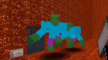 """迷你世界:玩家通过""""传送门""""来到奇特世界,这是要成为强者?"""