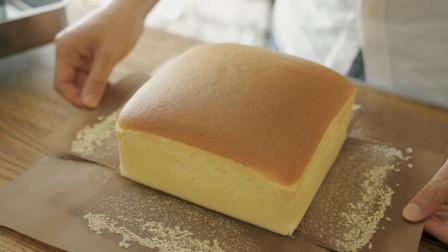 教你自制台湾爆款网红摇晃芝士蛋糕,材料做法简单,看一遍就会哦