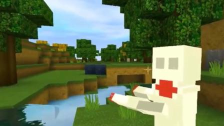迷你世界:玩家准备离开小伙伴,要拯救被破坏了的迷你大陆
