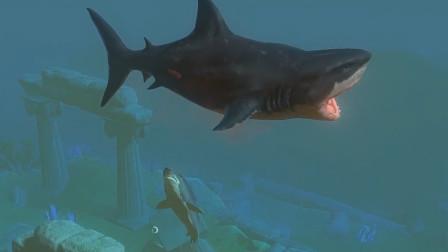 海底大猎杀:咱们打赢了大白鲨 没想到沧龙会过来偷袭