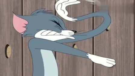 猫和老鼠:杰瑞真得瑟,要是斯派克看见它了,非得揍它一顿